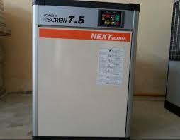 máy nén khí hitachi 7.5 kw cũ
