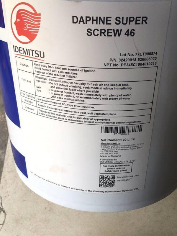 dầu máy nén khí Idemitsu 2